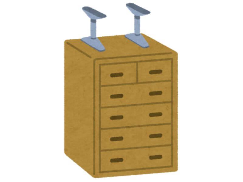 家具の転倒防止対策