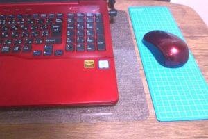 マウスパッドの代用品【おすすめのカッターマット】