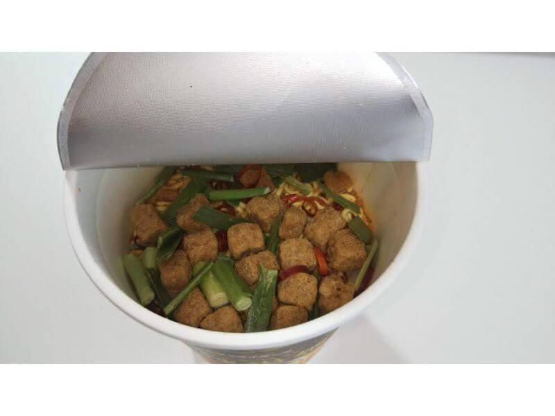 RIZAPカップ麺、麻辣湯麺 中身